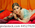 beautiful arabic style bride in ethnic clothes 44527020