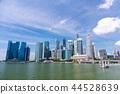 쾌청 싱가포르의 거리 풍경 44528639