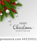 Christmas and New Year holiday design. 44535031