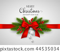 Christmas and New Year holiday design. 44535034
