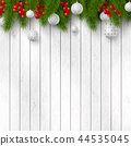 Christmas and New Year holiday design. 44535045