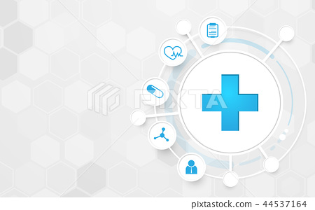 Abstract Medicine and science concept background 44537164