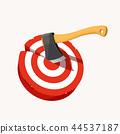 axe in target 44537187