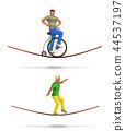man, risk, balance 44537197