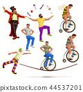 circus artists set 44537201