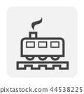 train icon black 44538225
