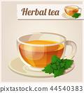 Detailed Icon. Mint tea. 44540383