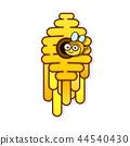 hive bee vector 44540430