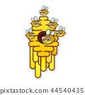 hive bee vector 44540435