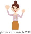 事業女性 商務女性 商界女性 44540755