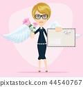 angel, letter, envelope 44540767