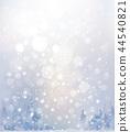 Vector winter snow  landscape.   44540821