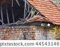Collapsed House Roof 44543146