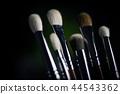 Brushes isolated on black 44543362