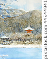 京都 三層塔 風景 44544941