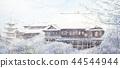 Kiyomizu寺雪景Kiyomizu寺京都觀光 44544944