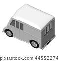 送貨車 廂式貨車 汽車 44552274