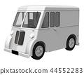 送貨車 廂式貨車 汽車 44552283