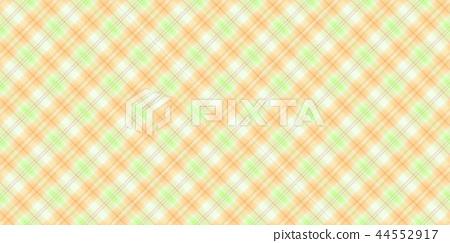 鮮豔細緻的格紋布料特寫材質紋理背景,正視圖(無縫接圖,高分辨率 2D CG 渲染∕著色插圖) 44552917