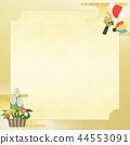 日日式 - 日式 - 日式紙 - 背景 -  Kadomatsu-Haeko板 - 鍍金 - 新年 44553091