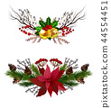 Christmas elements for your designs 44554451