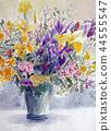 꽃의 스케치 아이리스 꽃꽂이 44555547