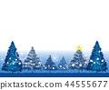 전나무 크리스마스 카드 (파랑) _3 44555677