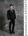 เกาหลี, ผู้ชาย, ธุรกิจ, สูท 44556473