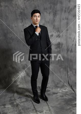 เกาหลี, ผู้ชาย, ธุรกิจ, สูท 44556485