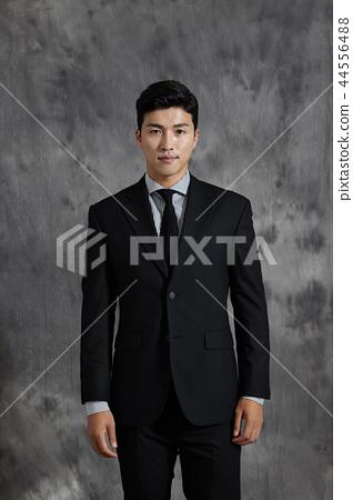 한국인,남자,비지니스,정장 44556488