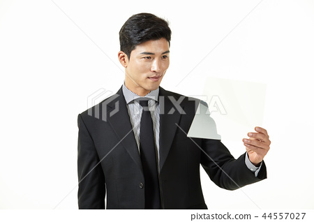 한국인,남자,비지니스,정장 44557027