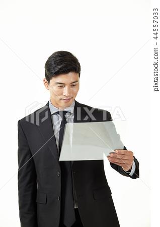 한국인,남자,비지니스,정장 44557033