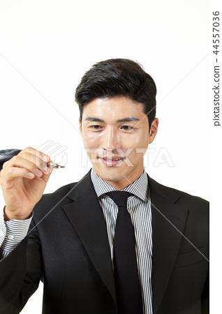 한국인,남자,비지니스,정장 44557036