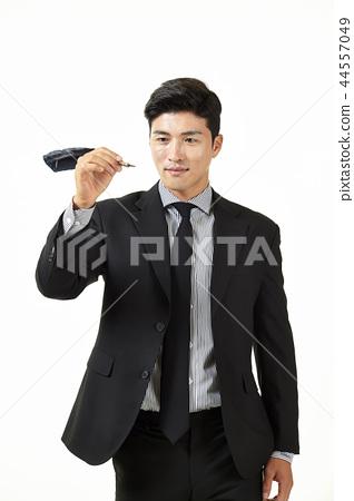 한국인,남자,비지니스,정장 44557049