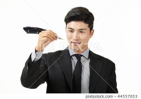 한국인,남자,비지니스,정장 44557053