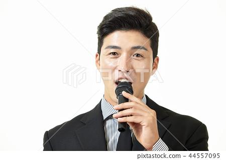 한국인,남자,비지니스,정장 44557095