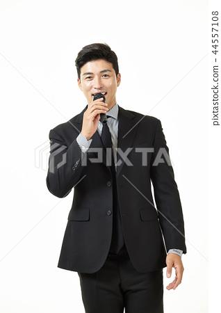 한국인,남자,비지니스,정장 44557108