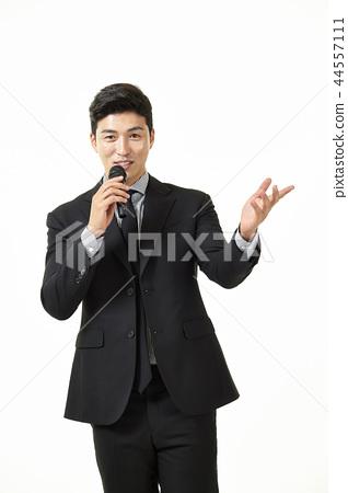 한국인,남자,비지니스,정장 44557111