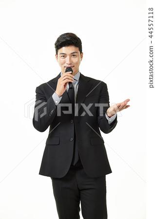 한국인,남자,비지니스,정장 44557118