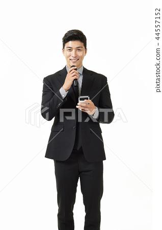 한국인,남자,비지니스,정장 44557152