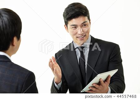 한국인,남자,비지니스,정장 44557468