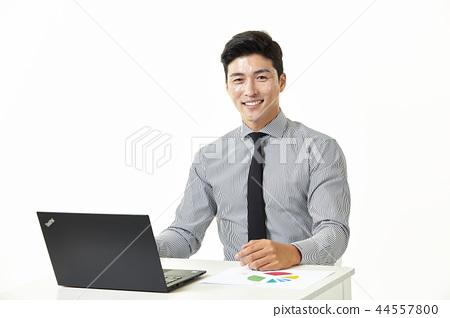 한국인,남자,비지니스,정장 44557800