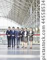 비즈니스맨,비즈니스우먼,한국인 44558534