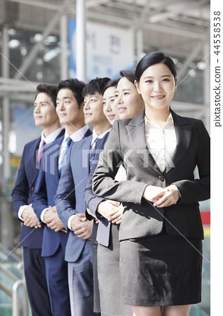商人,女商人,韓國人 44558538