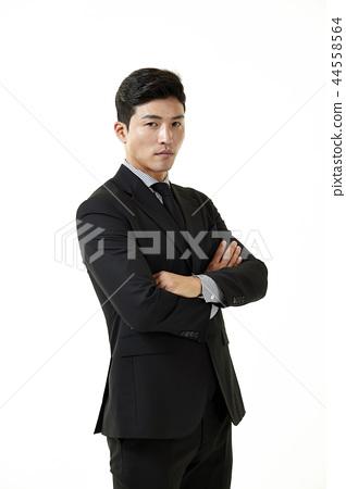한국인,남자,비지니스,정장 44558564