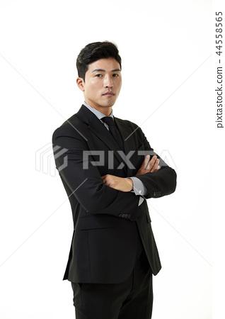 한국인,남자,비지니스,정장 44558565