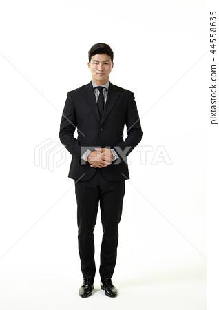 한국인,남자,비지니스,정장 44558635