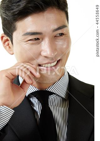 한국인,남자,비지니스,정장 44558649
