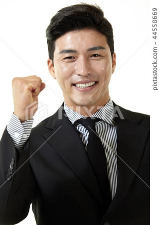 한국인,남자,비지니스,정장 44558669