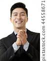 한국인,남자,비지니스,정장 44558671